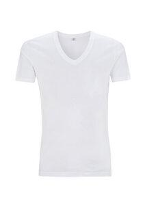 T-Shirt - Organic T-Shirt mit V-Ausschnitt  - Continental Clothing