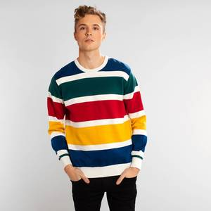 Pullover - Mora Multi Color Stripes - DEDICATED