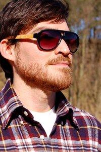 Schwarzbambus Piloten Sonnenbrille - Unidot Bamboo Eyewear