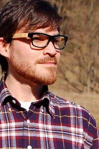 Schwarzbambus Geek Brille - Unidot Bamboo Eyewear