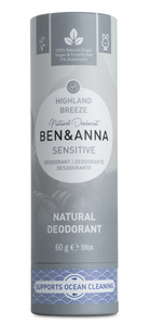 Ben & Anna Natürliches Soda Deodorant SENSITIVE Highland Breeze - Ben&Anna