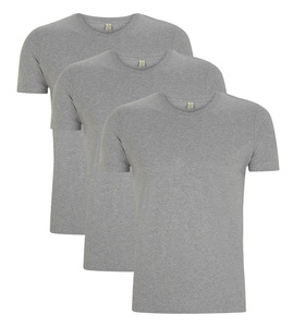 3er Pack - Organic Slim Fit T-Shirt  - Continental Clothing