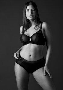 LOVJOI Damen BH SPEEDWELL Curve Style Schwarz Bio Fair - LOVJOI Intimates