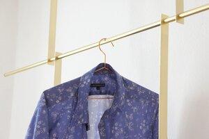 Brass Hanger - Messing Garderobe - Calvill