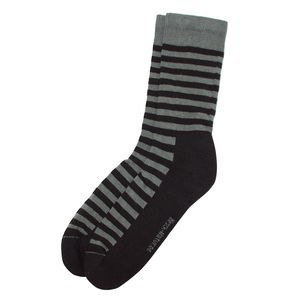 HIRSCH NATUR Damen und Herren Ringel Socken Bio-Baumwolle - hirsch natur