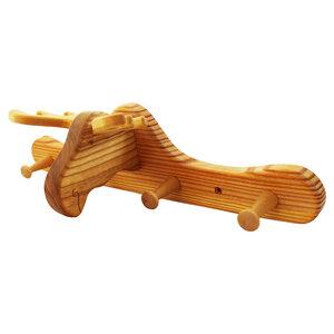 Kindergarderobe aus Holz | Elch - Mitienda Shop