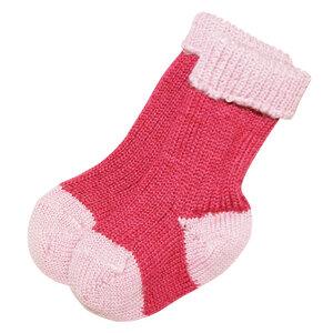 HIRSCH NATUR Baby und Kinder Socken reine Bio-Schurwolle - hirsch natur