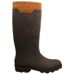 "Gummistiefel ""nat-2 Prime Bully vegan""  in braun und Kork - nat-2"