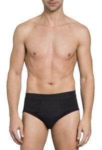 Herren Slip mit Eingriff Feinripp 3er Pack - Haasis Bodywear