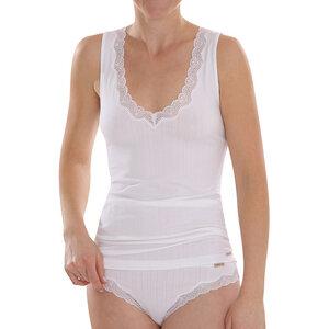 comazo earth Damen Unterhemd Achselträger Bio-Baumwolle - comazo earth