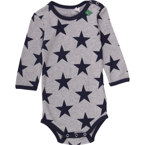 """Green Cotton"" Langarm-Body Sterne - Fred's World by Green Cotton"