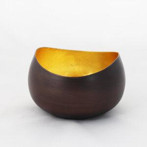 goldener Teelichthalter Swing - Mitienda Shop