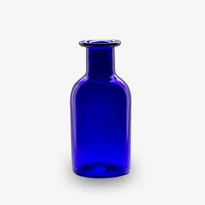 Dekovase blau | Blumenvase | Glasvase | große Vase |  - Mitienda Shop