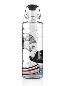"soulbottle 1,0l • Trinkflasche aus Glas • ""Spirit of Nature"" - soulbottles"