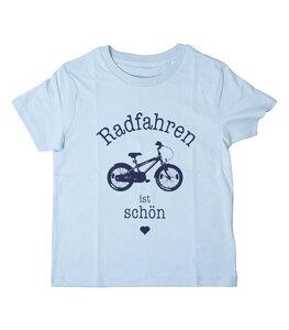 Radfahren ist schön / Fahrrad - Fair Wear Kinder T-Shirt - päfjes