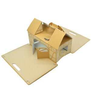 Spielhaus aus Karton für Kinder ab 3 Jahren - zum basteln und spielen - 4betterdays