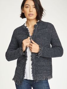 Sefa Cardigan Midnight Navy - Thought