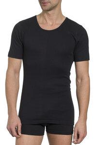 Herren Basic Shirt Rundhals Feinripp 2er Pack - Haasis Bodywear
