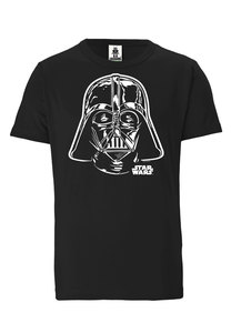 LOGOSHIRT - Star Wars - Darth Vader Portrait - Bio - Organic T-Shirt  - LOGOSH!RT