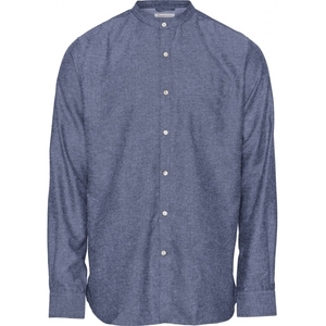 Leinenhemd - LARCH LS linen stand collar shirt - KnowledgeCotton Apparel