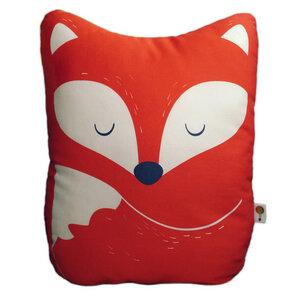 Kissen Fuchs aus Bio-Baumwolle - TELL ME