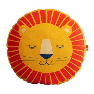 Kissen Löwe aus Bio-Baumwolle - TELL ME