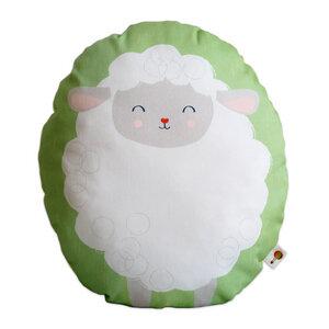 Kissen Schäfchen aus Bio-Baumwolle - TELL ME