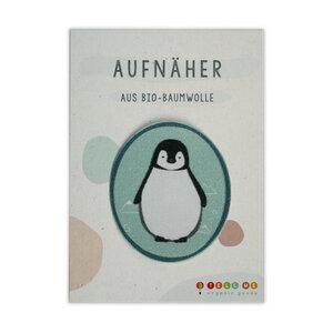 Aufnäher Pinguin aus Bio-Baumwolle - TELL ME