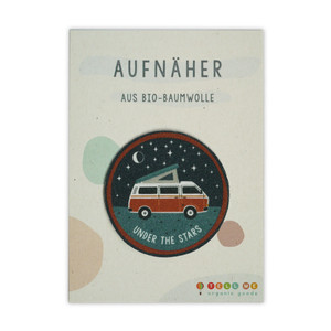 Aufnäher Camper 'Under The Stars' aus Bio-Baumwolle - TELL ME