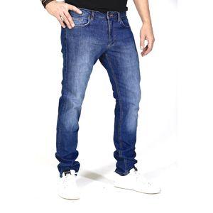 Slim Fit- Mid Indigo Herren-Jeans - TORLAND