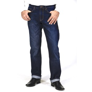 Straight Fit- Dark Indigo Herren-Jeans - TORLAND