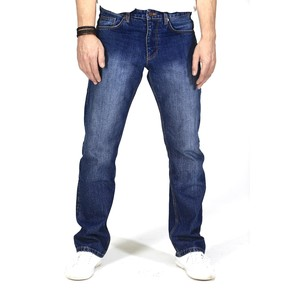 Straight Fit- Mid Indigo Herren-Jeans - TORLAND