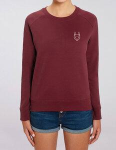 Pullover mit besticktem Fuchs - Frauen - Róka - fair clothing
