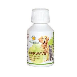 Gurwavet flüssiges Kräuter-Hautpflegemittel für Tiere, 100ml - SonnenMoor