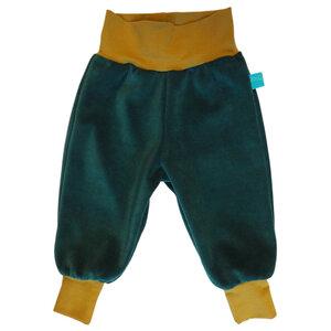 Baby Gemütlichkeitshose Smaragd/Moos - bingabonga®