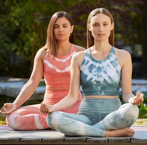 Yoga Top - Batik Bra - Mandala