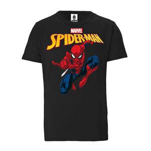 LOGOSHIRT - Marvel Comics - Spider-Man - Bio - Organic T-Shirt  - LOGOSH!RT
