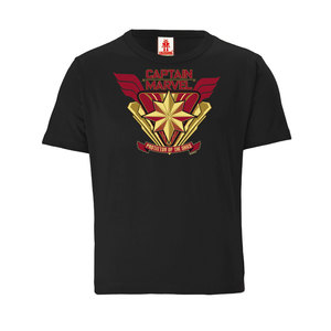 Marvel - Captain Marvel - Protector of the Skies - Kinder Bio T-Shirt  - LOGOSH!RT