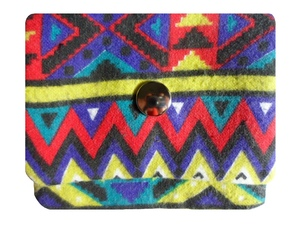 Leesha WILDe Upcycling Tampon Tasche Indianer - Leesha