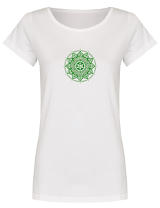 Basic Bio T-Shirt (ladies) Nr.2  Anahata Chakra - Brandless
