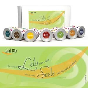 "Geschenkverpackung  BioTrockenfrucht Jalall D´or ""Avila"" sieben Sorten - Jalall D´or"