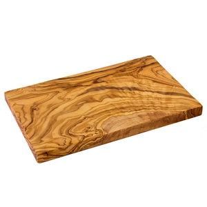 Olivenholz Schneidebrett Massives Holz Auswahl Größe - NATUREHOME