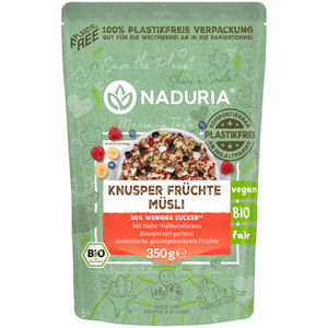 Bio Knusper Früchte Müsli 350g - Naduria