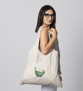 Tasche mit Schildkröte/ 3er Set - Beutel + Haken + Kosmetiktasche - Dori´s Prints