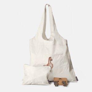Tasche mit Pferden Motiv/ 3er Set - Beutel + Haken + Kosmetiktasche - Dori´s Prints