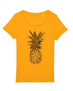 Ananas Women Shirt Fair Wear & Biobaumwolle - ilovemixtapes