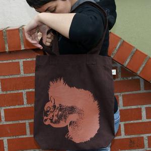 'Hopper!' Shopper aus BIO-BAUMWOLLE  - shop handgedruckt