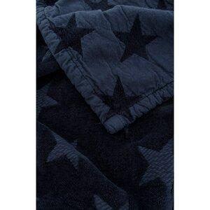 Sterndecke aus Chenille-Netz und Bio-Baumwolle 75 x 100 cm - Kadolis