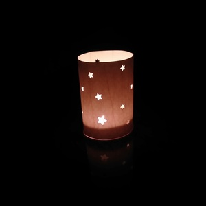 Lichterpost STERNE - das Windlicht aus Holz - echtholz