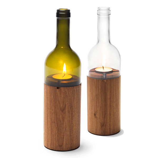 side by side windlicht weinlicht avocadostore. Black Bedroom Furniture Sets. Home Design Ideas